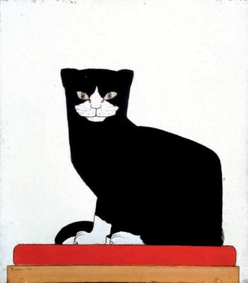 Bart van der Leck, The Cat