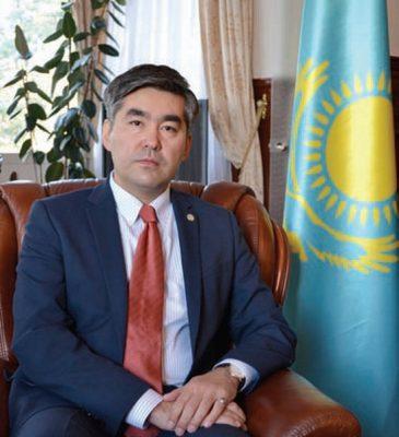 Ambassador of Kazakhstan, H.E. Mr. Magzhan Ilyassov
