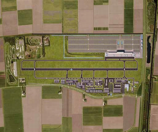 Ontwikkeling Lelystad Airport