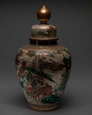 Vase with cover (unknown) 1850-1899