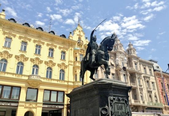 A capital city of Zagreb