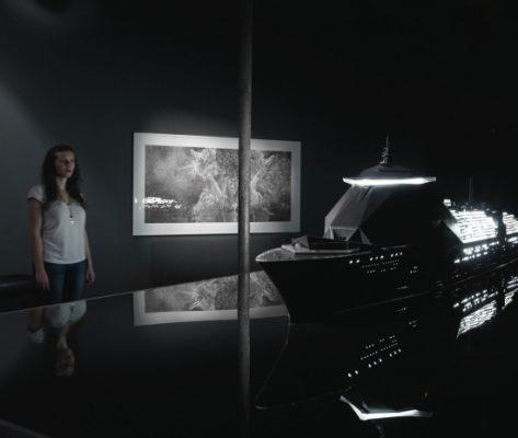 Sea of Tranquillity, the Museum (exhibition view) Hans Op de Beeck 2010