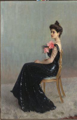 Nikolaj Bogdanov-Belski, Portrait of Princess Maria Abamelek- Lazareva, 1900-01 © State Hermitage Museum, St Petersburg