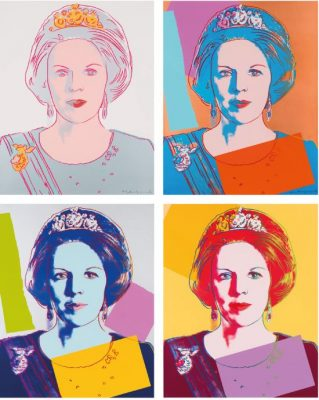 23 Andy Warhol Queen Beatrix of the Netherlands–'ReigningQueens'