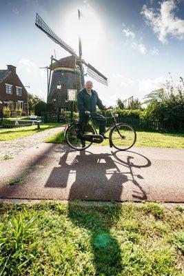 Biking through The Hague Photo by Martijn Beekman/gemeente Den Haag