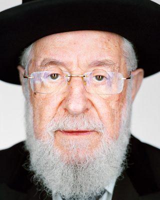 Martin Schoeller - Rabbi Israel Meir Lau